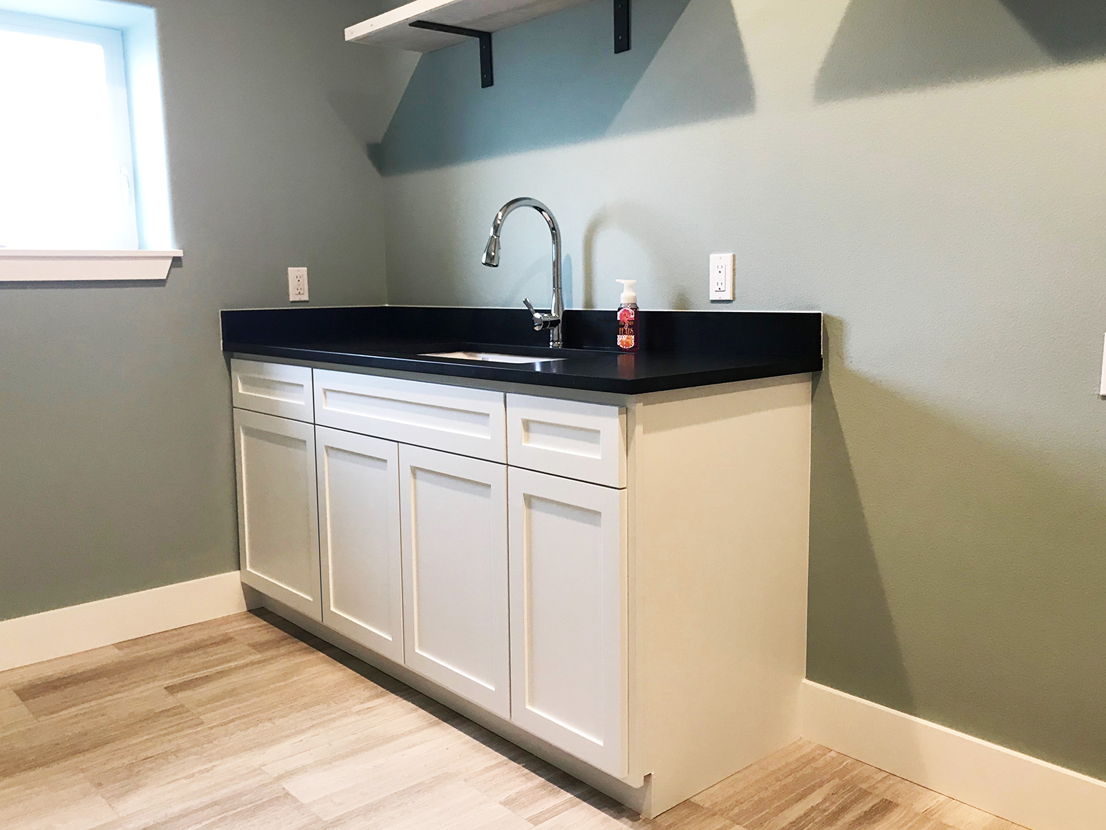 utility room cabinets